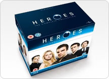 Heroes Blu-ray Box Sets